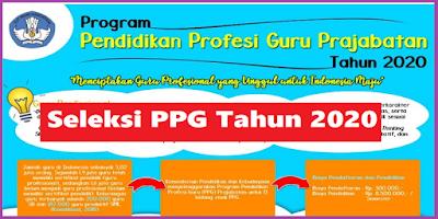 Seleksi PPG (Program Pendidikan Profesi Guru Prajabatan) Tahun 2020
