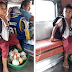Young boy turns to be a vendor after class by selling vegetables to help sick mother went viral