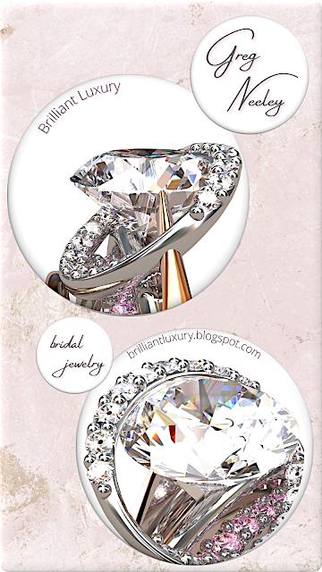 Greg Neeley award winning Meteor diamond ring #brilliantluxury