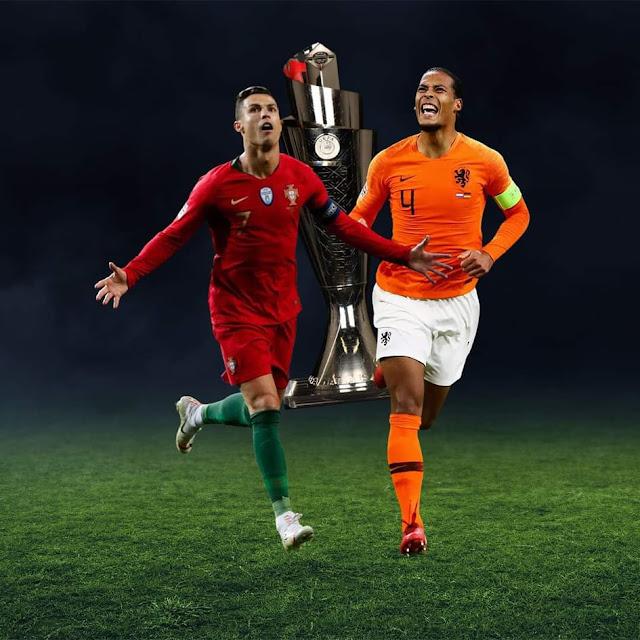 موعد مباراة هولندا والبرتغال في دوري الأمم الأوروبية 9-6-2019