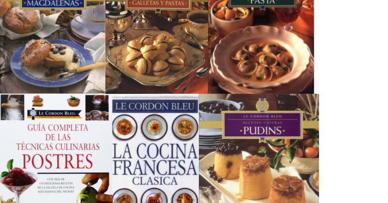 Coleccion De Libros Le Cordon Bleu A Gusto Con Tu Paladar