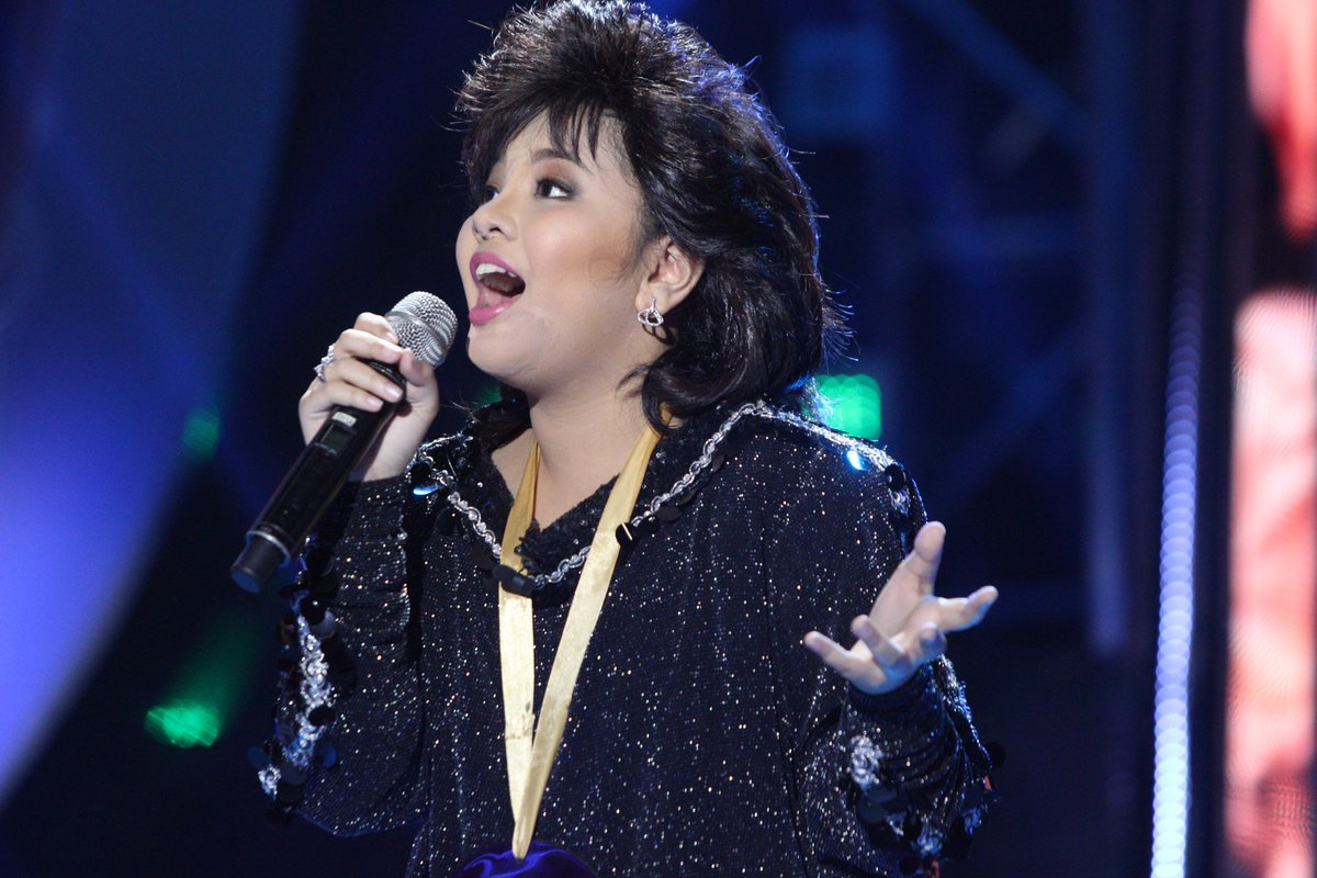 Elha Nympha impersonates Sharon Cuneta, wins 'Your Face Kids' Week 2
