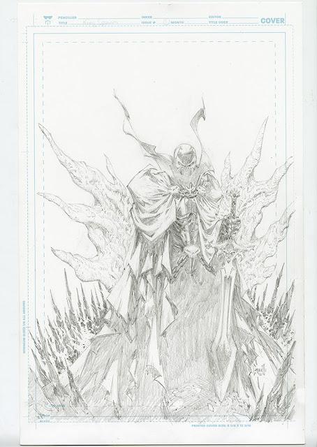 Primer vistazo a Image: King Spawn # 1