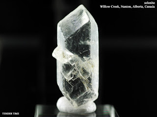 Selenite Willow Creek, Nanton, Alberta, Canada