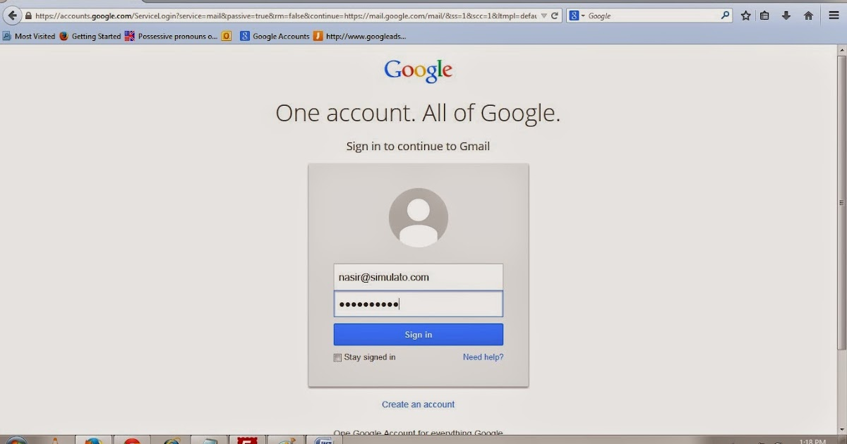 how to get a gmail account for business