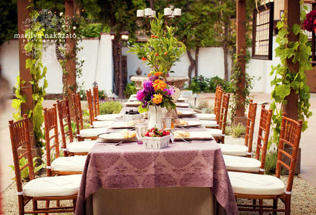 A Lovely Brunch Wedding Reception Day After Rehearsal Or Bridal Shower