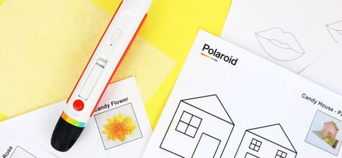 Polaroid made a pen that you can use to draw candy bars