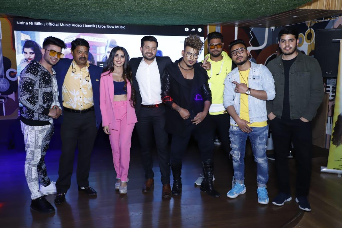 Anvarul-Hasan-Annu-and-actress-Ruma-Sharma-starrer-song-Naina-Ni-Billo-released