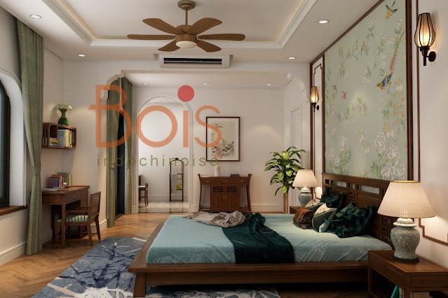 Bois Indochine style interior nội thất phong cách đông dương