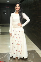 Megha Akash in beautiful White Anarkali Dress at Pre release function of Movie LIE ~ Celebrities Galleries 002.JPG
