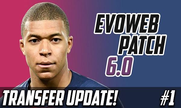 PES 2021 Option File EvoWeb Patch 6.0 Transfer updates