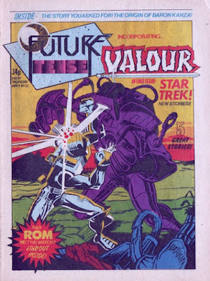 Future Tense and Valour #22, ROM