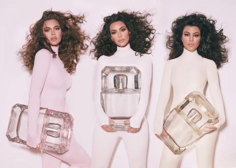 Kourtney, Kim and Khloe Kardashian star in KKW Fragrance Diamonds Collection campaign