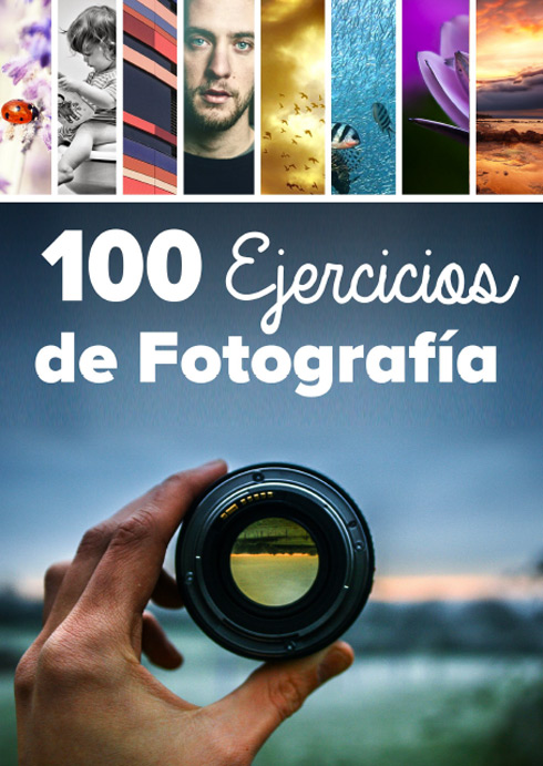 Portada libro: 100 Ejercicios de Fotografía