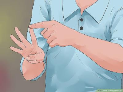 Quyết định xem bạn sẽ dùng ngón tay nào để chơi