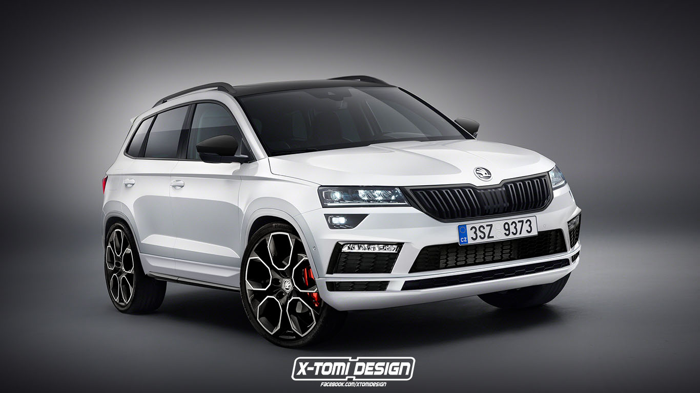 Skoda Karoq Looks Sportier In Rs And Monte Carlo Trim