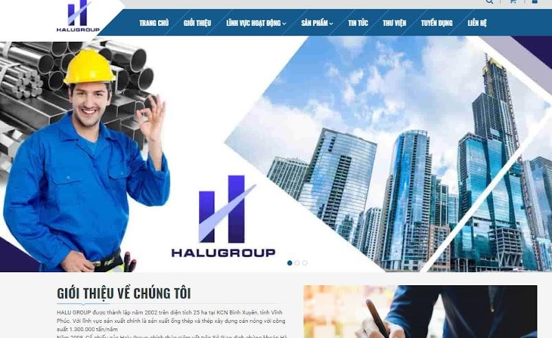 Template Blogspot HaluGroup Vật Liệu Xây Dựng Miễn phí