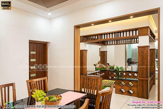 Dining room interior photograph