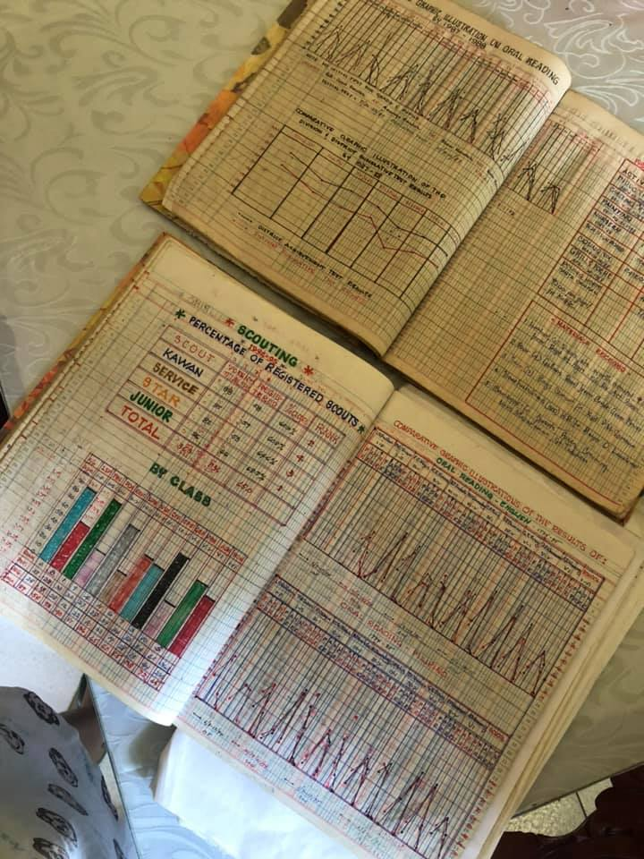 "Netizen finds handmade ""Excel"" sheets in dad's briefcase"