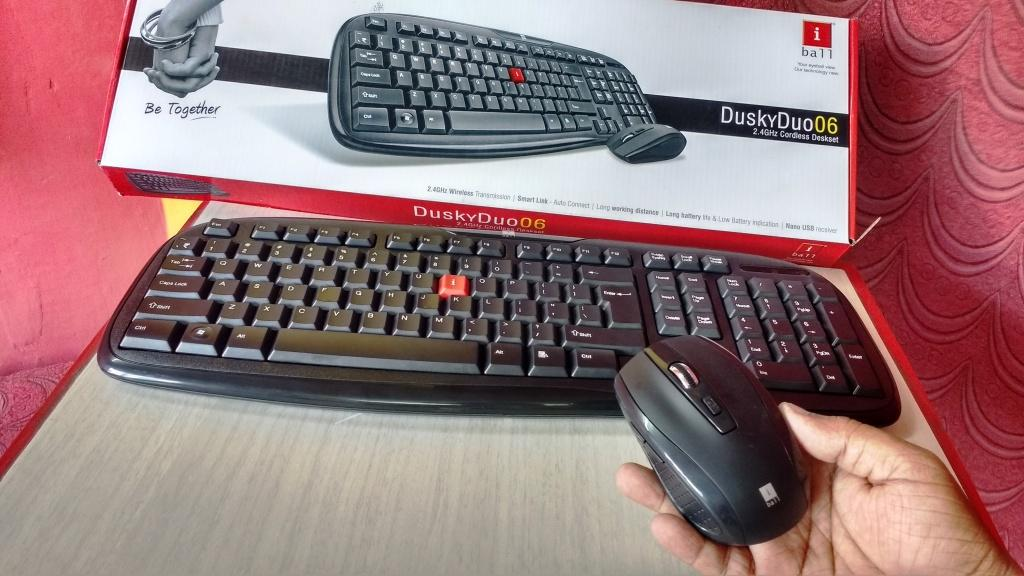 learn new things iball duskyduo06 wireless keyboard mouse price spec testing. Black Bedroom Furniture Sets. Home Design Ideas