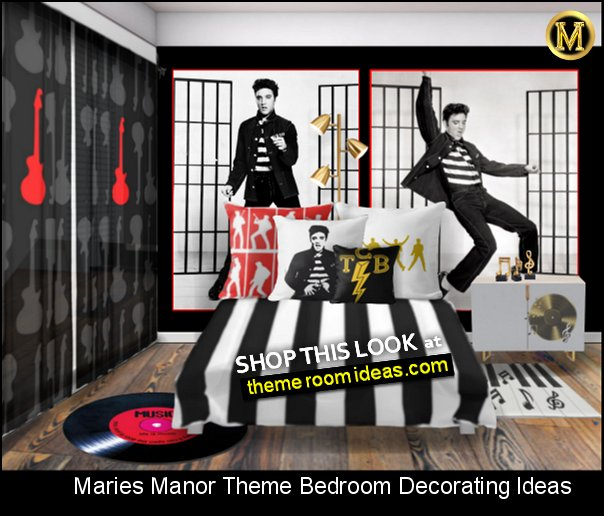 elvis presley jailhouse rock music bedroom decorating elvis bedroom rock n roll music bedroom ideas