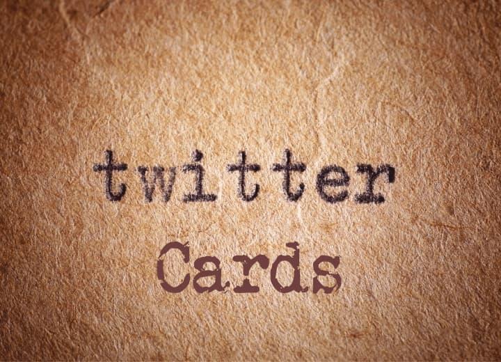 como configurar o twitter card em seu blog