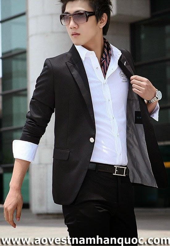 may áo vest nam cho người gầy