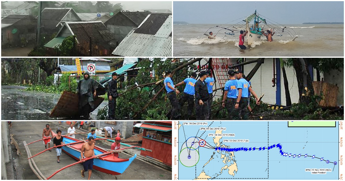 'Bagyong Tisoy' weakens after making several landfalls, but leaves lots of damage
