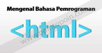 Mengenal Bahasa HTML
