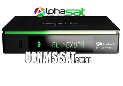 Alphasat Nexum Atualização V13.04.07.S80 - 07/04/2021