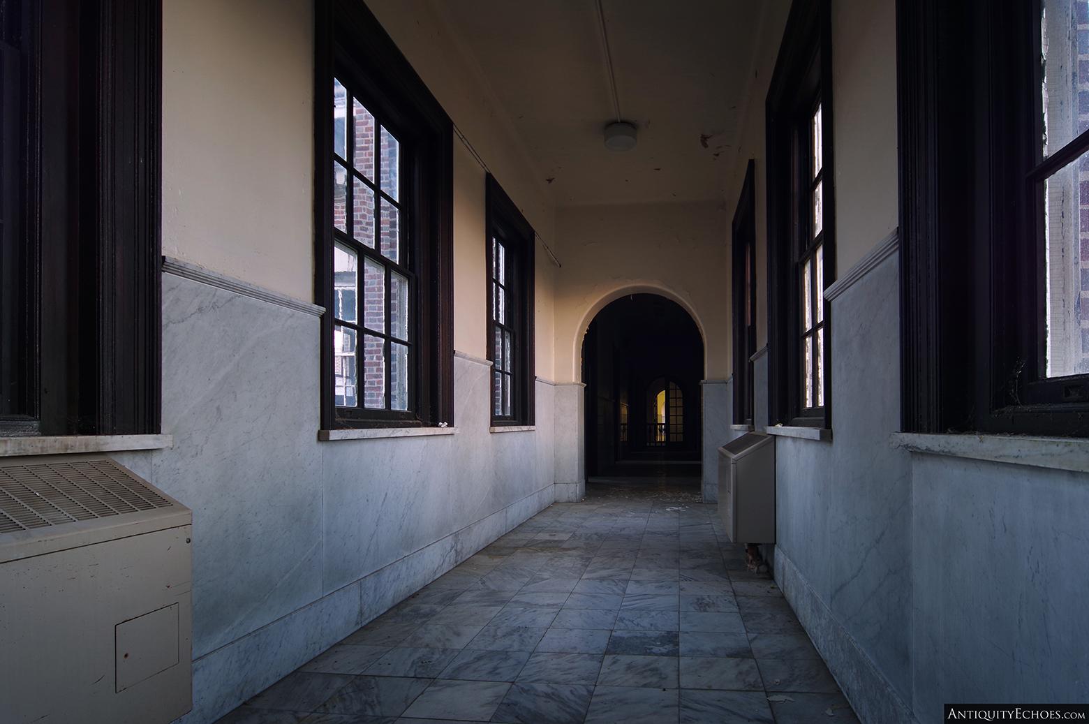 Allentown State Hospital - Admin Corridor
