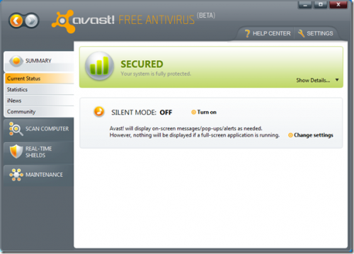 CYBER SECURITY EXPERT: Download Avast Free Antivirus 6.0 ...