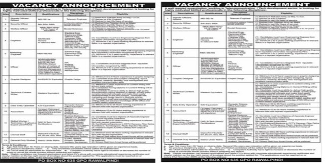 Public Sector Organization Jobs 2020 For Data Entry Operator,Welfare Officer, Marketing Engineer & more