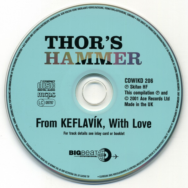 Johnkatsmc5 Thor S Hammer From Keflavik With Love Cd