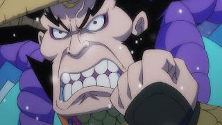 ワンピースアニメ 992話 ワノ国編   ONE PIECE 雷ぞう