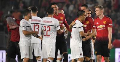 مشاهدة مباراة مانشستر يونايتد وميلان بث مباشر اليوم 3-8-2019 في بطولة الكأس الدولية للأبطال
