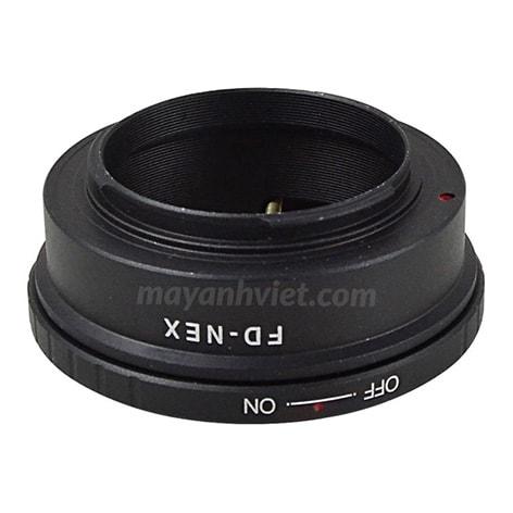 Ngàm chuyển Mount Canon FD-Nex chính hãng