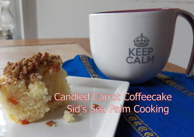 Candied Carrot Coffee Cake