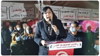 عبير موسي: ''اقتربنا من 500 ألف إمضاء شعبي للانخراط في ثورة التنوير''لغلق كل أوكار تفريخ الإرهابيين و نشر الفكر الظلامي