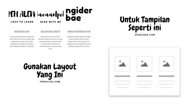 landing page profile