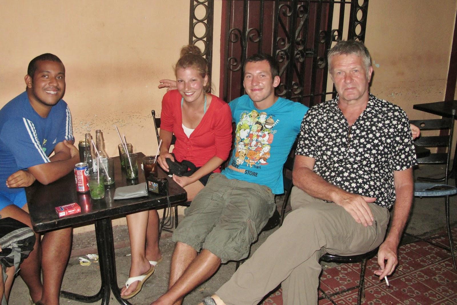 El Patio, bar de Baracoa, uma das regiões mais remotas de Cuba.