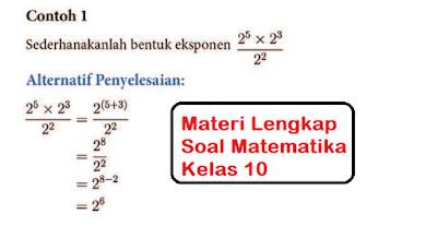 materi soal matematika kelas 10 pdf