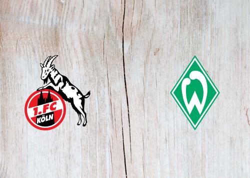 Köln vs Werder Bremen -Highlights 21 December 2019