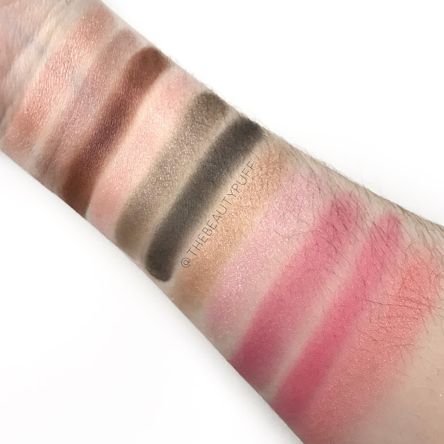 Paul and Joe Swatches  |  The Beauty Puff