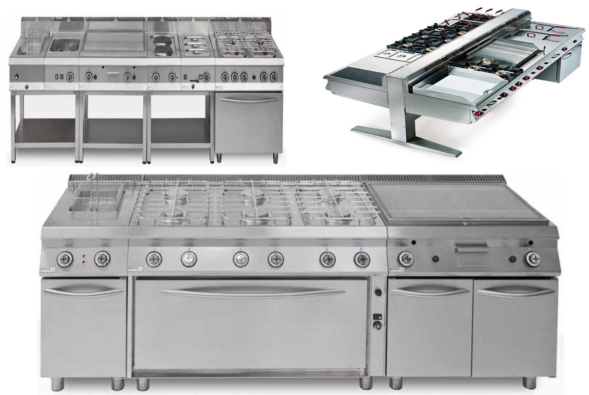Degart attrezzature bar e cucine industriali per for Arredamento cucina ristorante