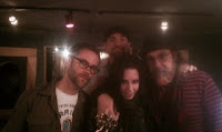 Mark Hudson Dave Eggar Madam Mayhem Threshold Recording Studios NYC