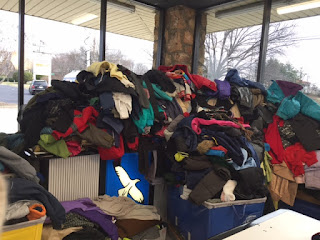 Coat donations for North Carolina's Needy