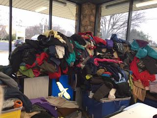 Coat donations for North Carolina's Needy