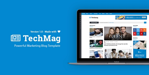 TechMag best wordpress theme