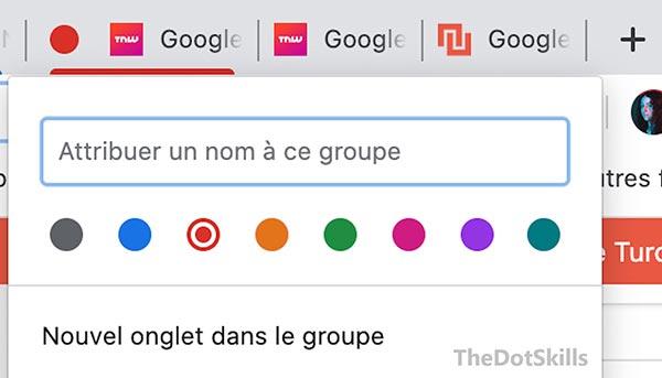 Comment regrouper les onglets sur Google Chrome?